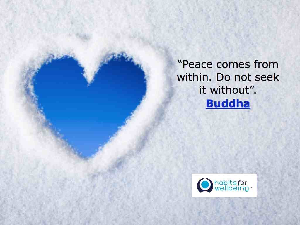 Quotes About Peace And Love Peace Comes From Within