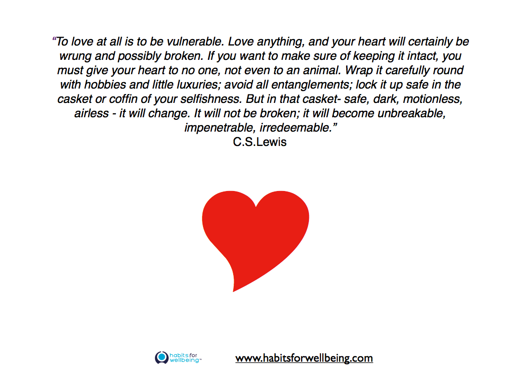 Quote To Love Is To Be Vulnerable
