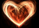 love heart fire