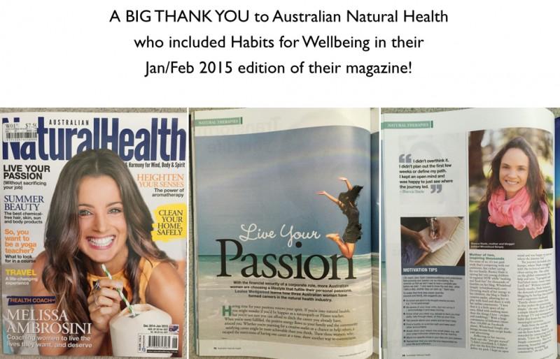 Australian Natural Health 2015
