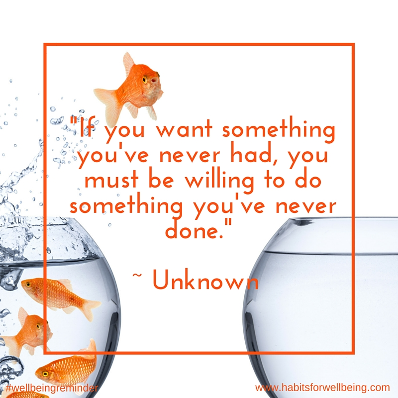 If you want something never had quote