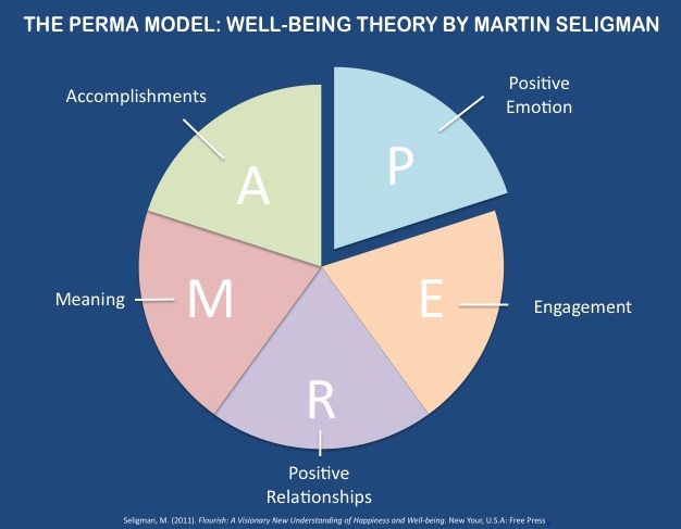 PERMA Model Well-being Theory by Martin Seligman